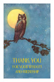 Thank you for your Wisdom and Friendship Posters