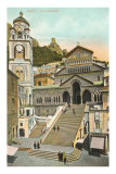 Cathedral, Amalfi, Italy Prints