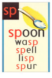 SP for Spoon Posters