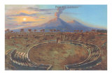 Amphitheater at Pompeii Prints