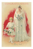 Congratulations, Victorian Wedding Photo