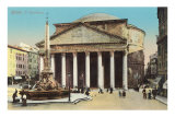 The Pantheon, Rome Poster