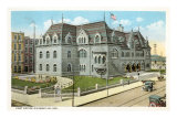Post Office, Evansville, Indiana Print
