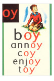 OY in Boy Poster