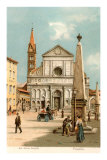 Santa Maria Novella Church, Florence, Italy Posters