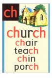 CH for Church Print