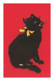 Black Cat Graphic Prints