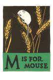 M is for Mouse Posters