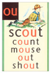 OU in Scout Poster