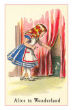 Alice in Wonderland, Alice Finds Door Posters
