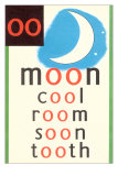 OO in Moon Affiches