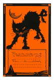 Halloween Party Invitation Posters