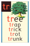 TR for Tree Plakater