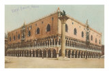 Le palais des Doges, Venise, Italie Affiches