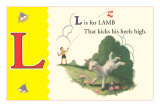 L is for Lamb Affiches