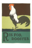 R is for Rooster Photo