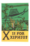 X is for Xiphius Prints