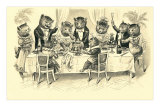 Cats&#39; Dinner Party Posters