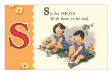 S is for Shoes Posters