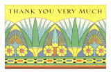 Thank You Very Much, Art Nouveau Frieze Photo