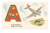 A is an Airplane Posters