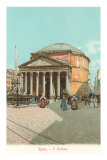 The Pantheon, Rome, Italy Posters