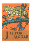 J is for Jaguar Posters