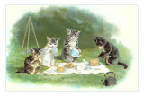 Kittens&#39; Picnic Posters