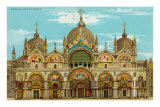 St. Mark&#39;s Basilica, Venice, Italy Prints