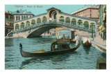 Rialto Bridge, Venice, Italy Prints