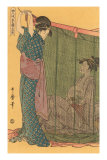 Japanese Woodblock, Geishas Posters