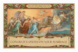 Matrimonio, Congratulations on Your Marriage, Classical Procession Photo