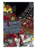 Ocean Harvest I Giclee Print by Susan Gillette