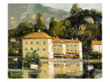 Grand Hotel, Lake Como Giclee Print by Ted Goerschner