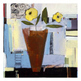 Yellow Flowers I Giclee Print by Charlotte Foust