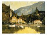 Como Vista Giclee Print by Ted Goerschner