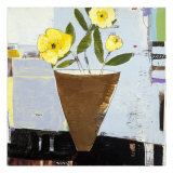 Yellow Flowers II Giclee Print by Charlotte Foust