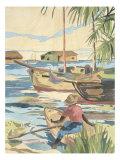 Isle II Giclee Print by Dan Goad