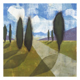 Walkway II Giclee Print by David Dauncey