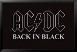 AC/DC - Back in Black Poster