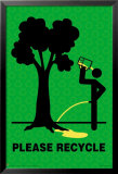 Please Recycle Print