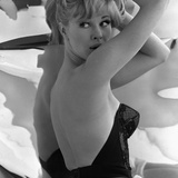 Model Posing in a Bustier, 1960 Giclee Print by John French