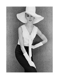 Outfit and White Hat, 1960s Giclée-Druck von John French