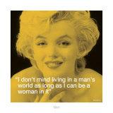 Marilyn: Man's World Kunstdrucke