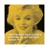 Marilyn: Man's World Poster