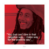 Bob Marley: Positive Day Prints