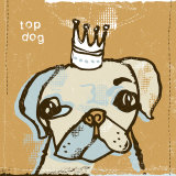 Top Dog Print by Peter Horjus