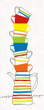 Stacks of Cups II Prints by Avery Tillmon
