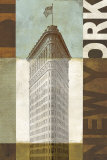 Urban New York Prints by Mo Mullan