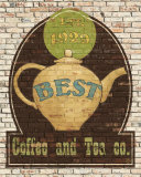 Best Coffee and Tea Poster von Avery Tillmon